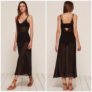 Reformation Becker Sheer 3 Piece Dress